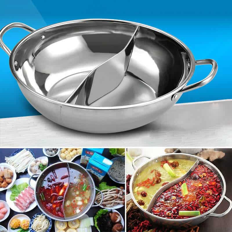 Stainless Steel Chinese Hot Pot Cooker